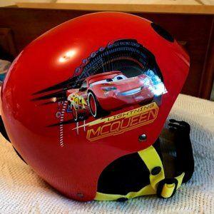 Lightning McQueen Kids Snow Helmet - Age 3+